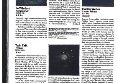 2593_Florian Weber_Downbeat(4 stars and hotbox)_Feb2019